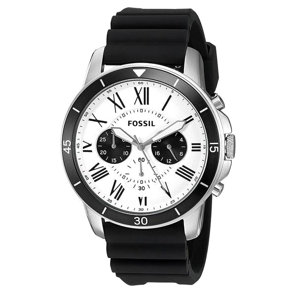 Grant Sport Chronograph White and Black Dial Men's Quartz Watch