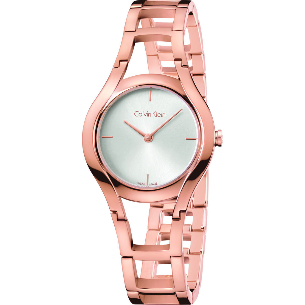Class Rose Gold Tone Stainless Steel Ladies' Watch