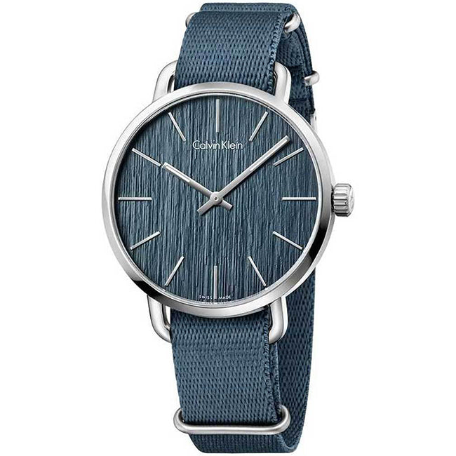 Even Blue Fabric Strap Blue Dial Womens' Watch