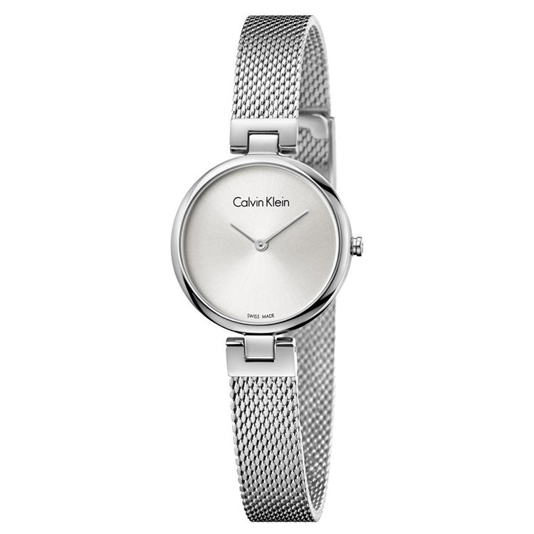 Silver Dial Stainless Steel Strap Ladies' Watch