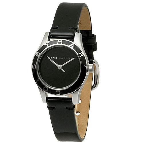 Blade Black Leather Ladies' Watch
