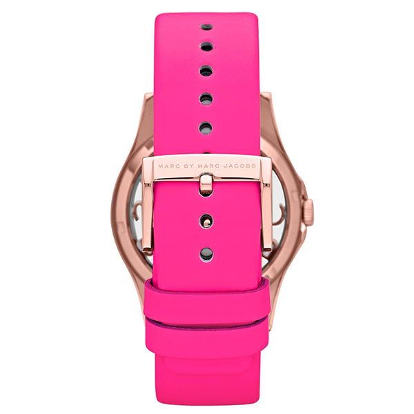 Henry Pink leather Ladies' Watch