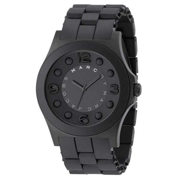 Marc Jacobs Pelly Black Theme Men's Watch