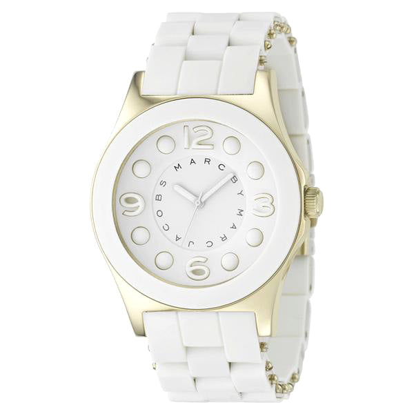Marc Jacobs Pelly White Ladies Watch