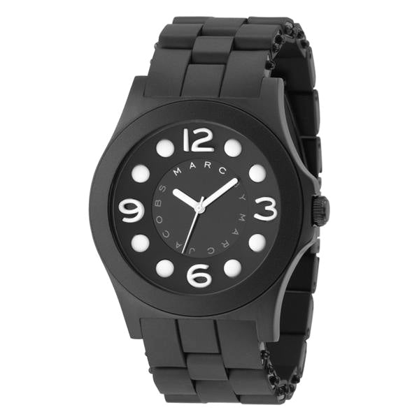 Marc Jacobs Large Pelly Black-tone Stainless Steel Ladies Watch