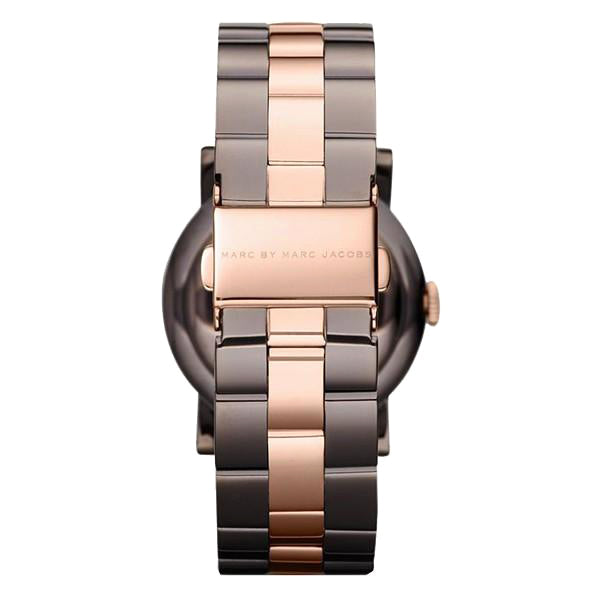 Amy Brown Dial Two-tone Stainless Steel Ladies Watch