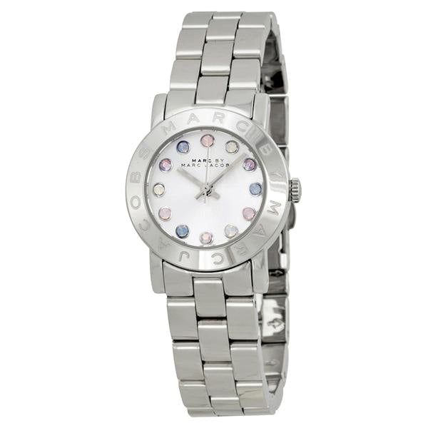 Mini Amy Dexter White Dial Stainless Steel Ladies Watch