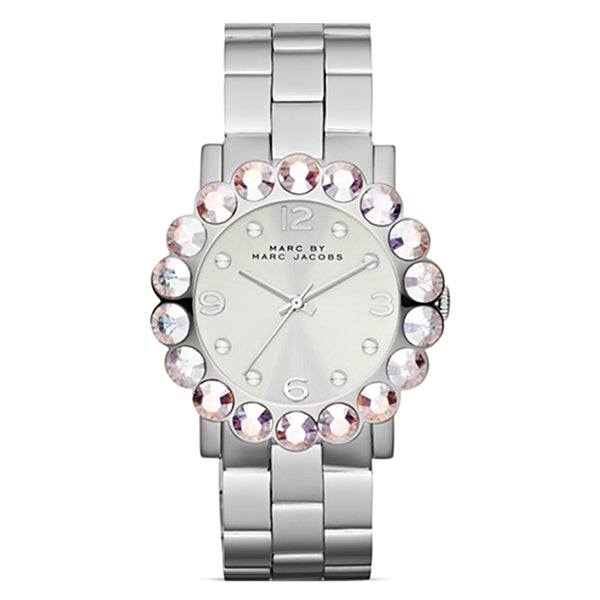 Amy Scallop Glitz Stainless Steel Bracelet Ladies Watch