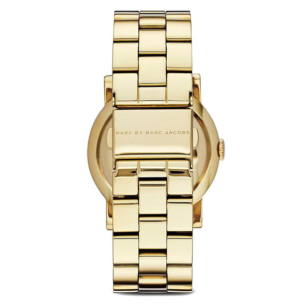 Amy Mother of Pearl Dial Gold-tone Stainless Steel Ladies Watch