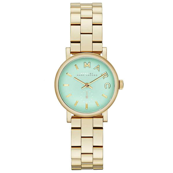 Baker Tiffany Blue Dial Gold-tone Ladies Watch