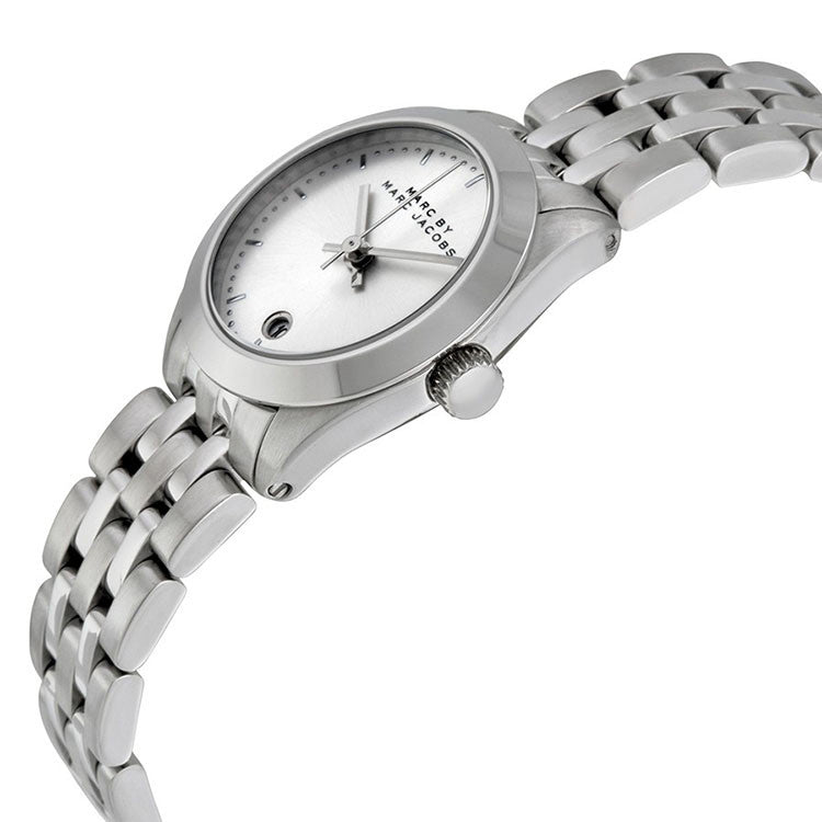 Peeker Silver Dial Stainless Steel Ladies Watch