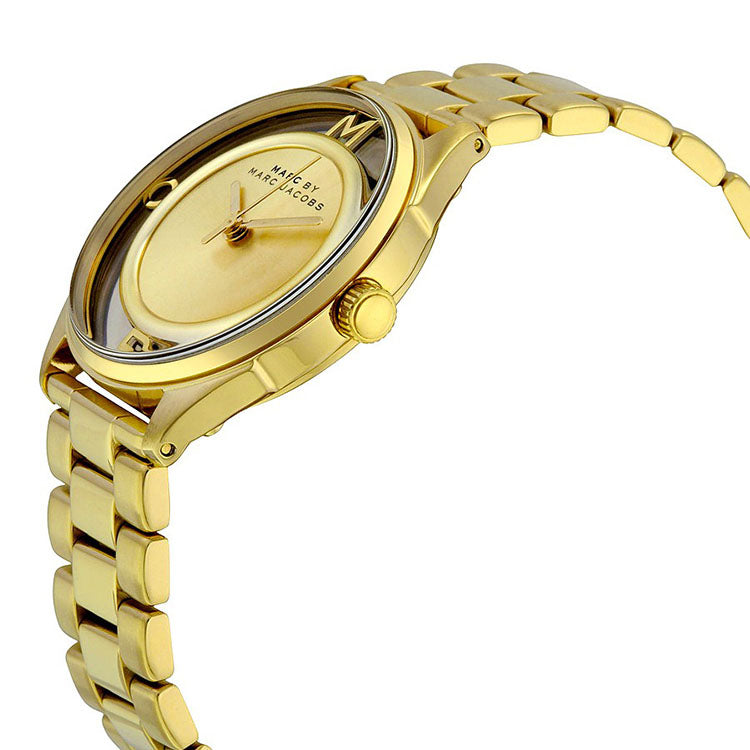 Tether Gold-Tone Stainless Steel Ladies Watch