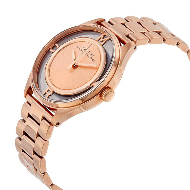 Tether Rose Gold-Tone Stainless Steel Ladies Watch