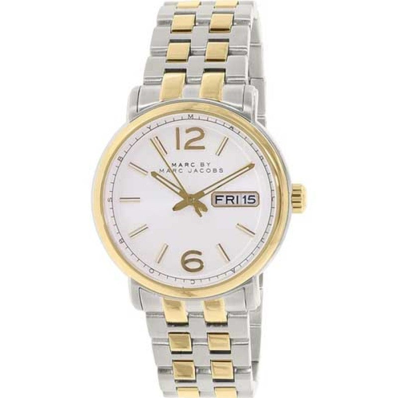 Fergus Gold-Tone And Silver-Tone Mens' Watch