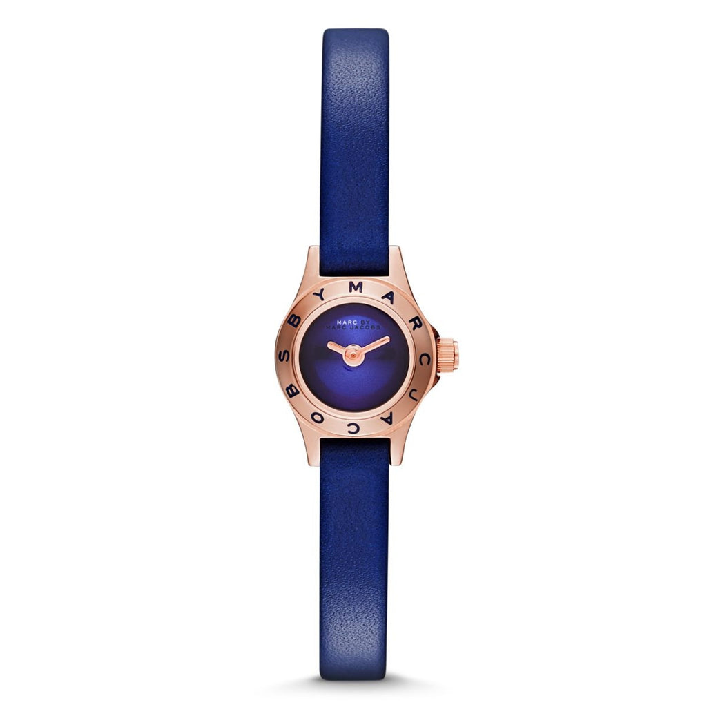 Blade Blue Leather Ladies' Watch