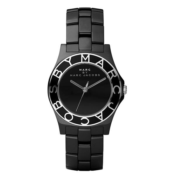 Blade Black Ceramic Ladies Watch