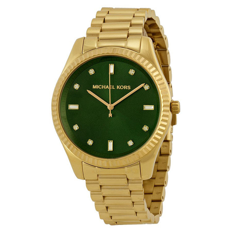 Blake Emerald Green Dial Gold-tone Ladies Watch