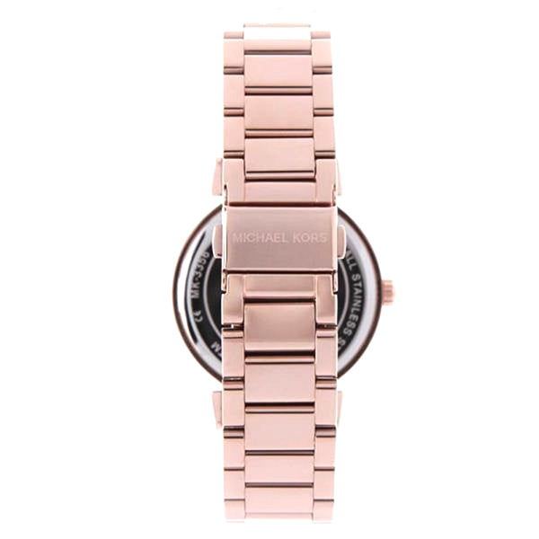 Catlin Black Dial Rose Gold-plated Ladies Watch