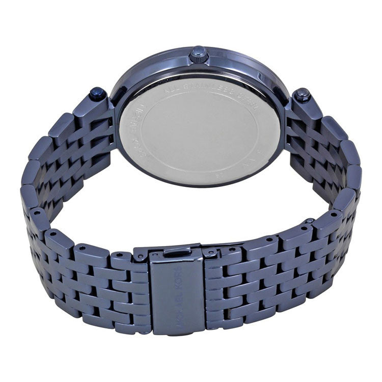 Darci Blue Sunray Dial Blue Stainless Steel Ladies Watch