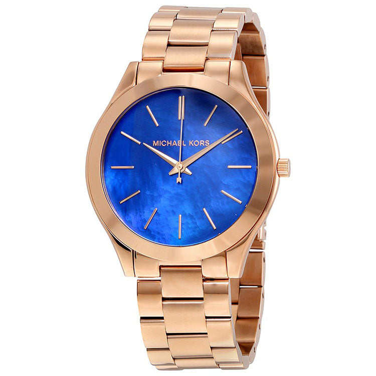 578658bd7c1a ... Slim Runway Quartz Rose Gold-tone Stainless Steel Ladies Watch ...