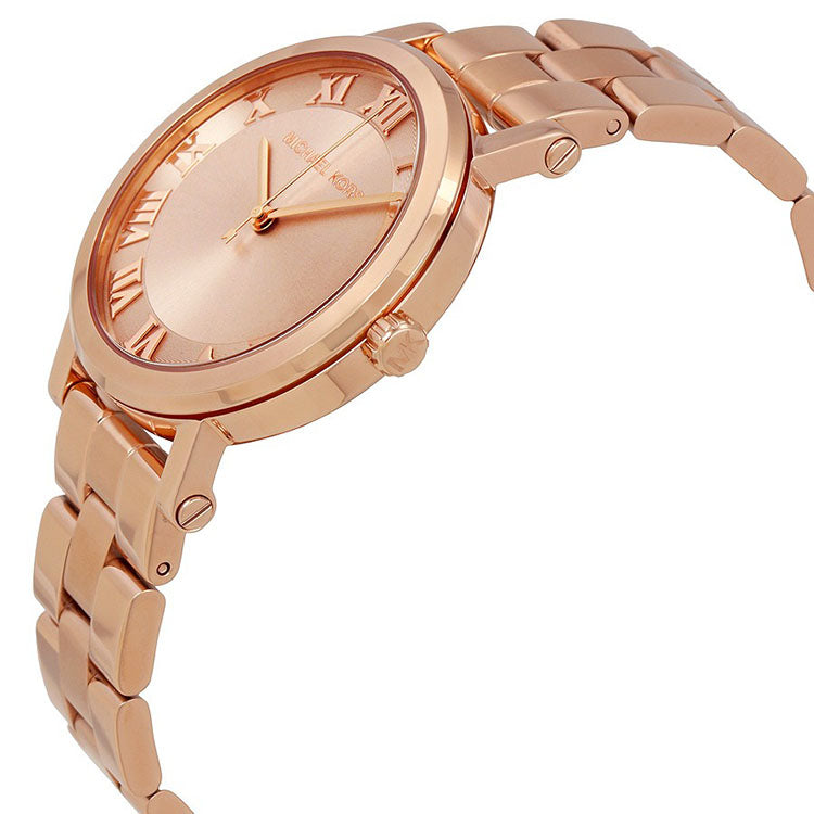 d87b883f7dc Michael Kors MK3561 Norie Ladies Rose Gold Watch - 32° Watches