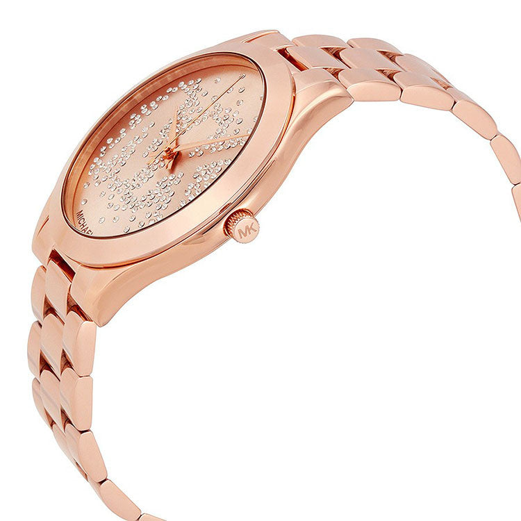 8d5d3a3b0 Slim Runway Rose Gold Tone Dial Ladies Watch