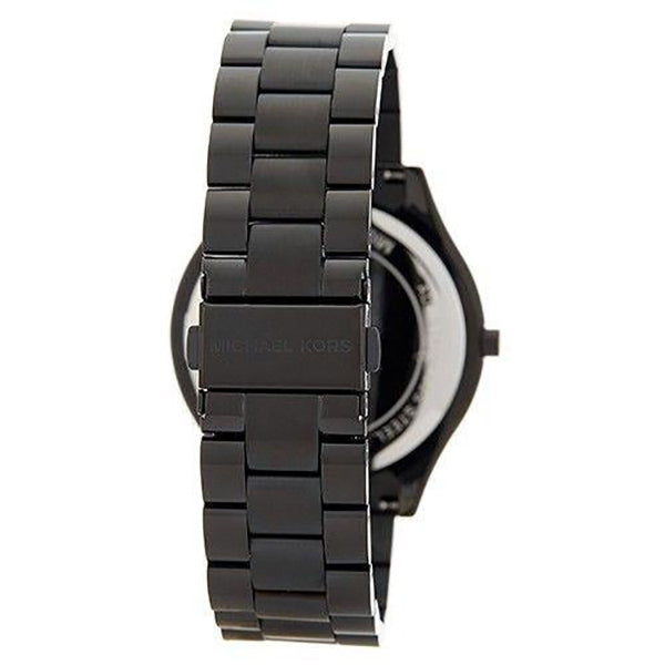 Slim Runway Black Stainless Steel Ladies Watch