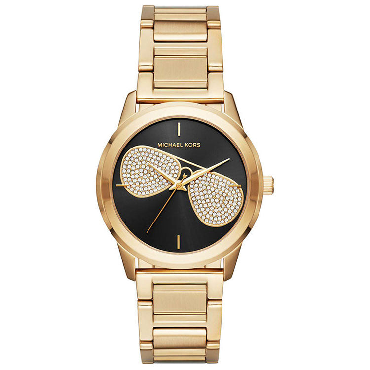 Hartman Black Sunray Dial Ladies Watch