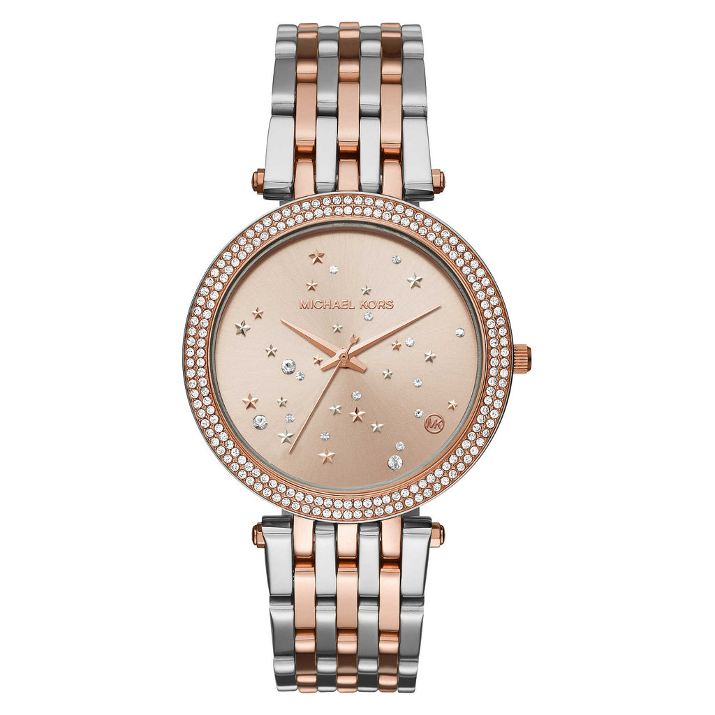 Darci Rose Gold-Tone And Stainless Steel Ladies Watch