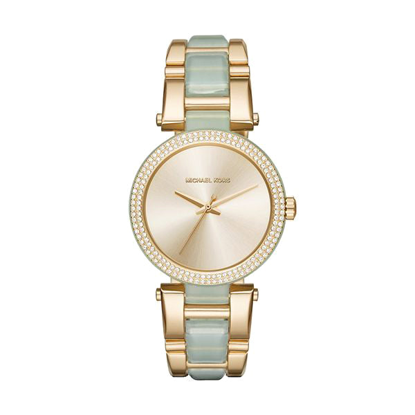 Delray Pave Gold Dial Ladies Watch