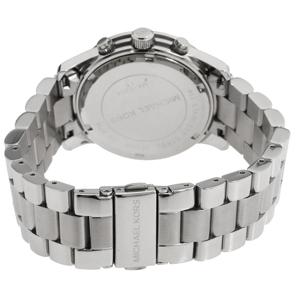 Stainless Steel Chronograph Ladies Watch