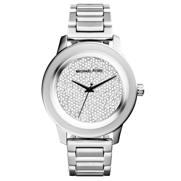 Kinley Diamond Pave Dial Stainless Steel Men's Watch