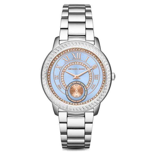 Madelyn Blue Dial Stainless Steel Ladies Watch