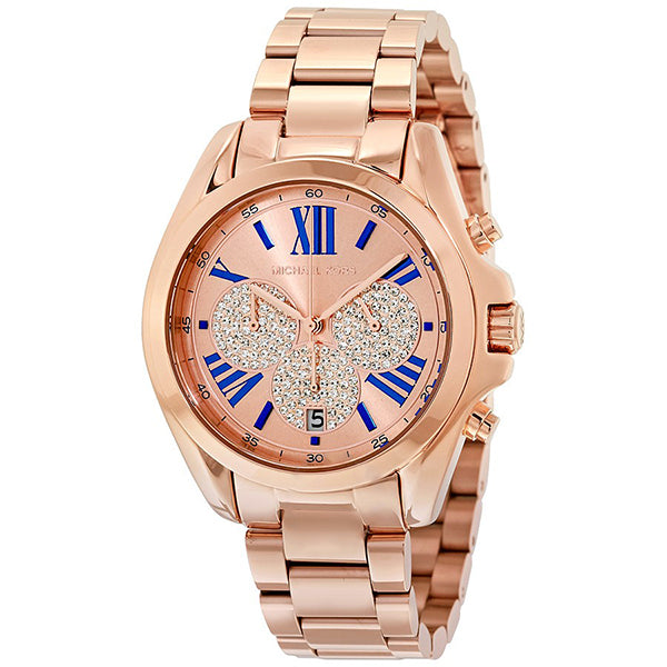 Bradshaw Chronograph Rose Gold-tone Ladies Watch