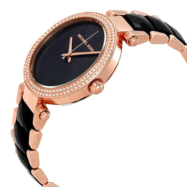 Parker Black Dial Ladies Watch