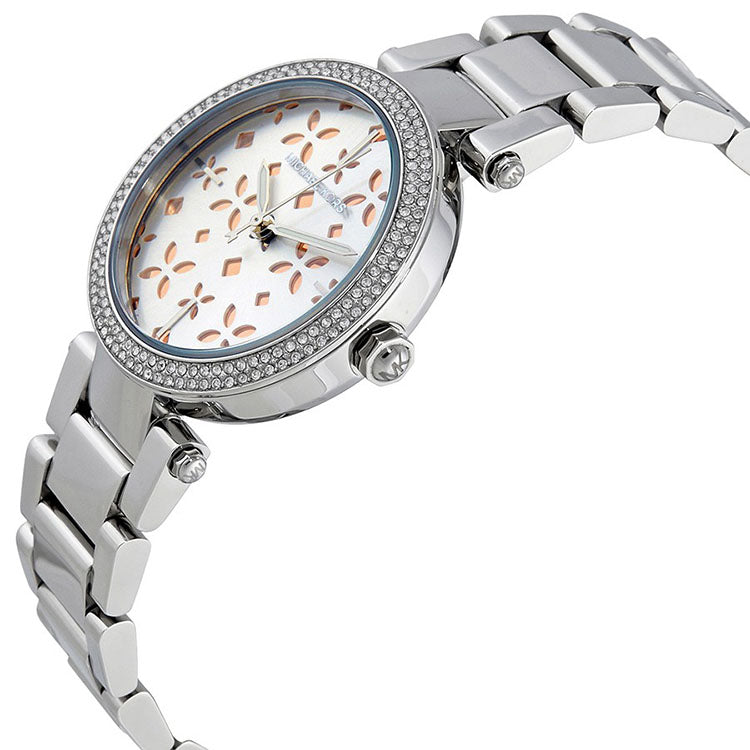 Mini Parker Silver Dial Ladies Watch