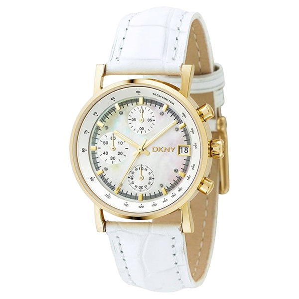 Casual Gold-tone Ladies Watch Chronograph
