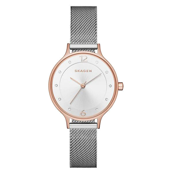 Anita Silver Dial Stainless Steel Ladies Watch