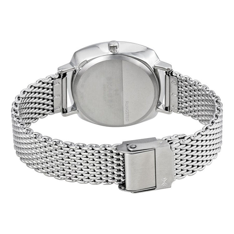 Rungsted Silver Dial Ladies Stainless Steel Watch