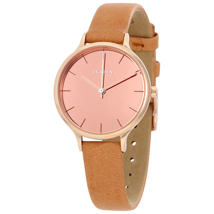 Anita Mirror Pink Dial Ladies Watch