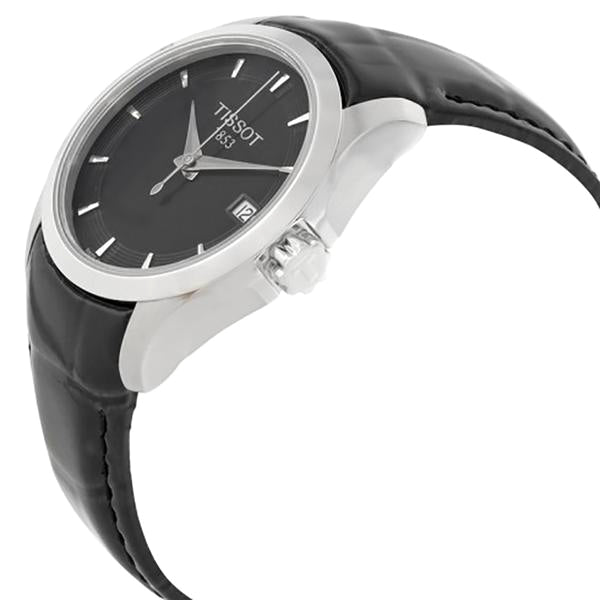 Couturier Black Dial Ladies Watch