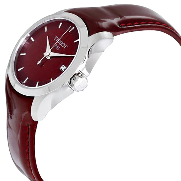 Couturier Burgundy Dial Ladies Watch
