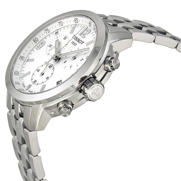 PRC 200 Chronograph White Dial Stainless Steel Men's Watch