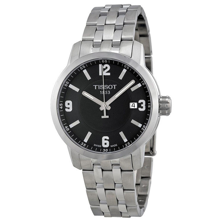PRC 200 Quartz Black Dial Stainless Steel Sport Men's Watch
