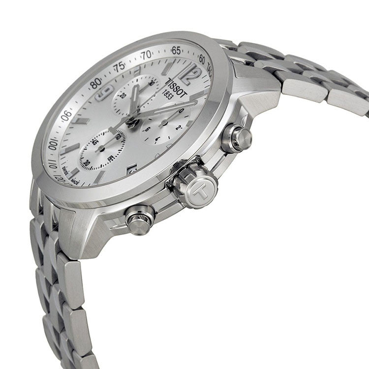 PRC 200 Chronograph Silver Dial Stainless Steel Men's Watch