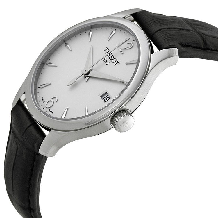 f1d8237cf90 Tissot T063.210.16.037.00 T-Classic Tradition Silver Dial Ladies ...
