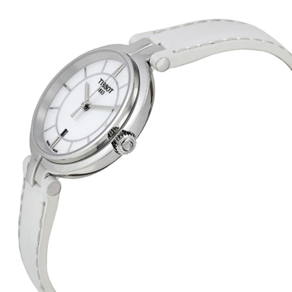 Flamingo White Dial Ladies Watch