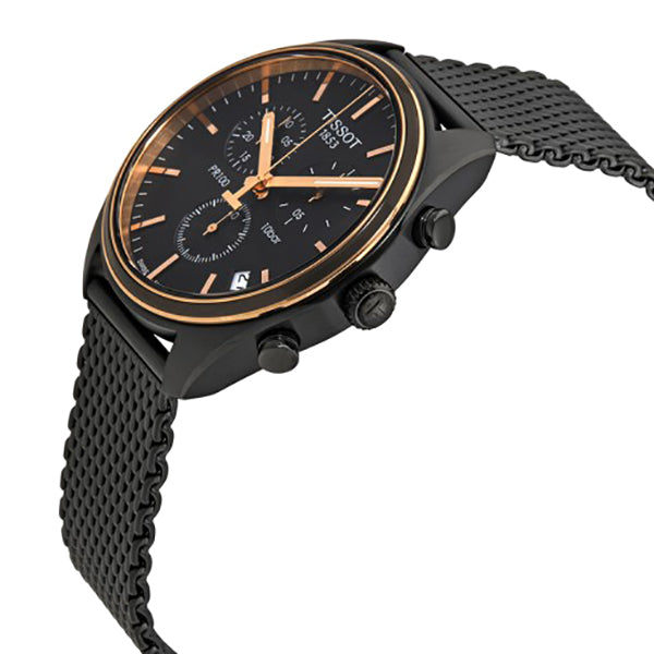 PR 100 Chronograph Black Dial Men's Watch
