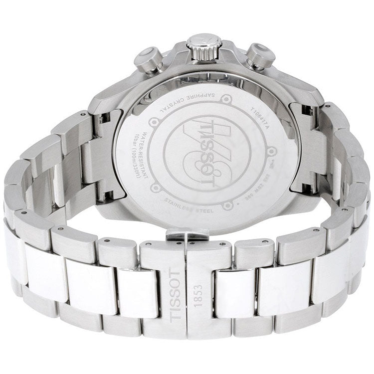 V8 Silver Dial Chronograph Stainless Steel Men's Watch