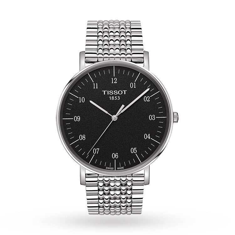T-Classic Everytime Rhodium Dial Men's Watch